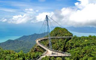 Небесный мост Лангкави, Малайзия — обзор