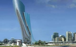 Небоскреб Capital Gate, ОАЭ — обзор