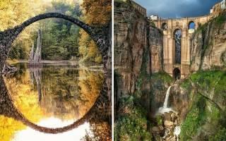 Любителям попрыгать. Величественные мосты и виадуки — обзор