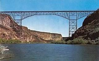 Мост Перрин, США — обзор