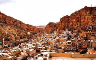 Жедайдет-аль-Шебани — что посмотреть по городам Сирии