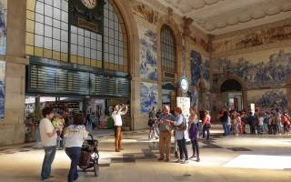 Вокзал Сан-Бенту, Португалия — обзор