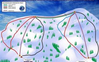 Обзор и отзывы лыжного курорта Миньяр
