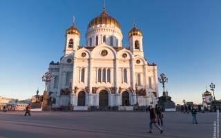 Храм Христа Спасителя, Россия — обзор
