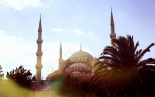 Голубая мечеть, Турция — обзор