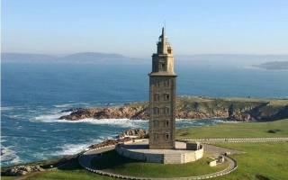 Маяк «Башня Геркулеса», Испания — обзор