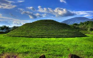 Пирамида Гуачимонтонес, Мексика — обзор