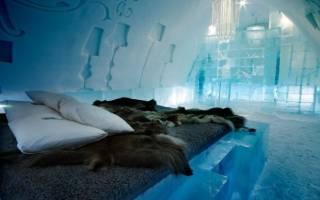 Ледяной отель, Швеция — обзор