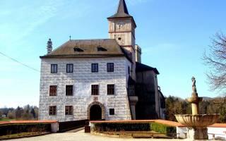 Замок Рожмберк, Чехия — обзор