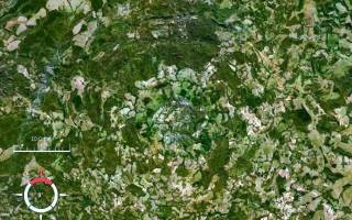 Кратер Арагуайна, Бразилия — обзор