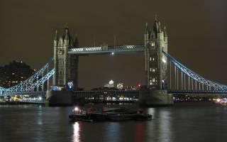 Тауэрский мост, Англия — обзор
