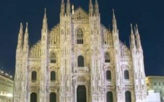 Миланский собор, Италия — обзор