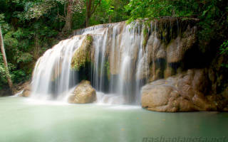 Водопад Эраван, Таиланд — обзор