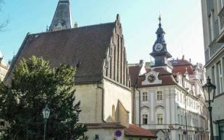 Старонова синагога, Чехия — обзор