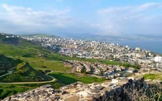 Тверия — что посмотреть по городам Израиля
