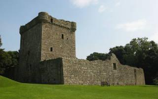Замок Лочлевен, Шотландия — обзор