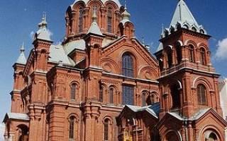 Собор Успения Пресвятой Богородицы, Финляндия — обзор