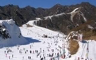 Наньшань — обзор и отзывы лыжного курорта Китая