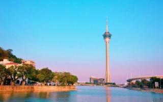 Башня Макао, Китай — обзор