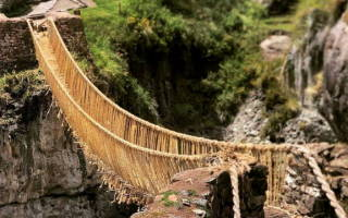 Мост Кешва Чака, Перу — обзор