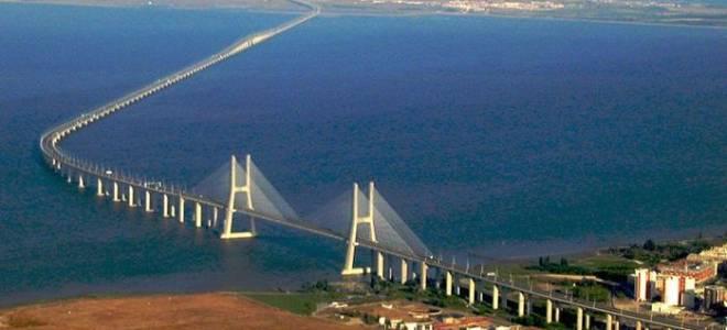 Мост Васко да Гама, Португалия — обзор