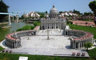 Италия в миниатюре, Италия — обзор