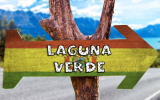Озера Лагуна-Бланка и Лагуна Верде, Боливия — обзор