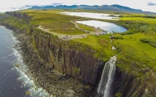 Водопад Килт Фоллс, Шотландия — обзор