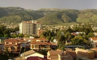 Сакаба — что посмотреть по городам Боливии