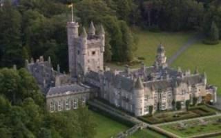 Замок Балморал, Шотландия — обзор