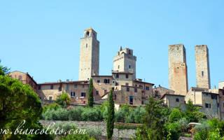 Исторический центр города Сан-Джиминьяно, Италия — обзор