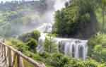 Мраморный водопад, Италия — обзор