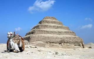 Пирамида Джосера, Египет — обзор