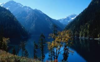 Национальный парк Цзючжайгоу, Китай — обзор
