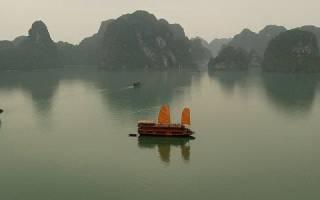 Бухта Халонг, Вьетнам — обзор