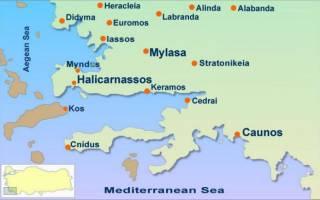 Галикарнасский Мавзолей, Турция — обзор