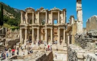 Храм Артемиды в Эфесе, Турция — обзор