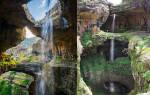 Водопад Баатара, Ливан — обзор