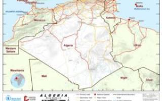 Транссахарская магистраль, Алжир — обзор