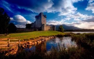 Замок Росс, Ирландия — обзор