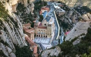 Монастырь Монсеррат, Испания — обзор