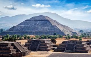 Древний город Теотиуакан, Мексика — обзор