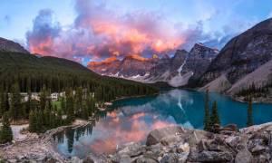 Озеро Морейн, Канада — обзор