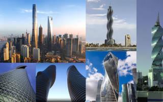 Отверточки в небо. Витые здания и башни (в виде спирали) — обзор