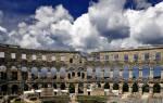 Амфитеатр Пулы, Хорватия — обзор
