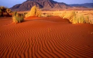 Пустыня Симпсона, Австралия — обзор