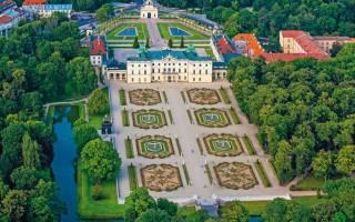 Дворец Браницких, Польша — обзор