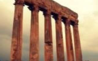 Храм Юпитера в Баальбеке, Ливан — обзор