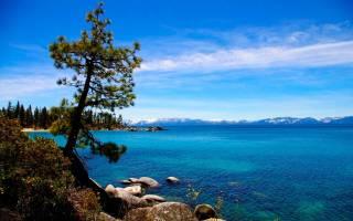 Озеро Тахо, США — обзор