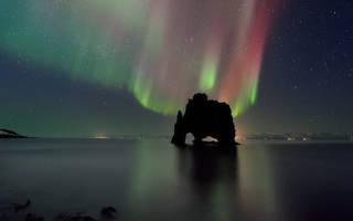 Скала Хвитсеркур, Исландия — обзор